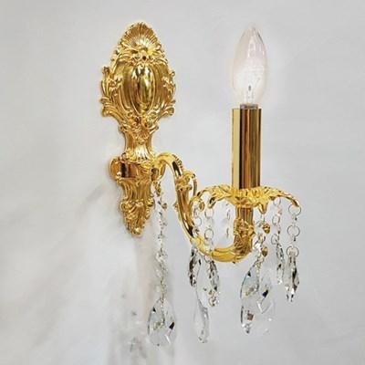 촛대 크리스탈  1등 벽등-캐스팅