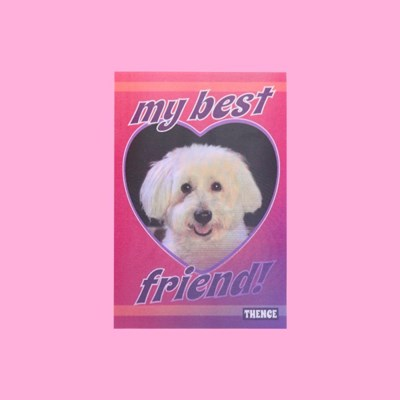 LENTICULAR CARD_BEST FRIEND