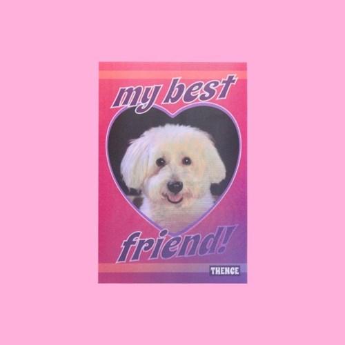 LENTICULAR CARD_BEST FRIEND