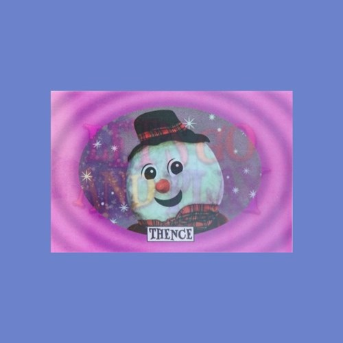 LENTICULAR CARD_SNOW MAN