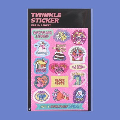 TWINKLE STICKER_VER.2
