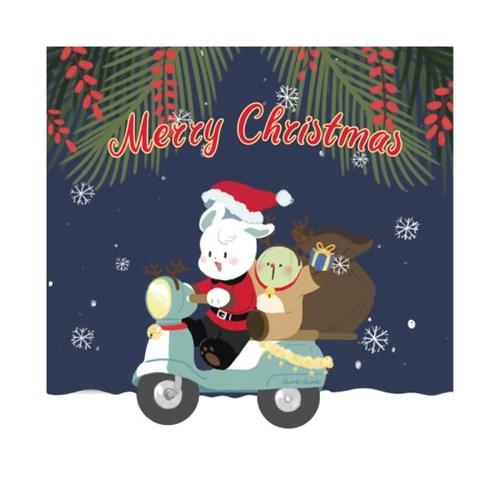 크리스마스 엽서