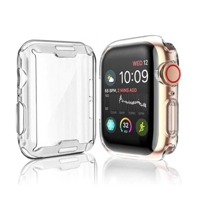 애플워치 2 3 4 5 6 SE 세대 투명 젤리 케이스 풀커버
