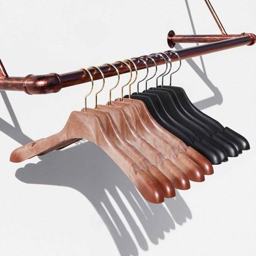 튼튼한 플라스틱 가벼운 니트걸이 고급 정장옷걸이 10묶음