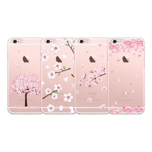 9C9C 벚꽃나무 클리어케이스_갤럭시시리즈