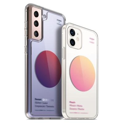 PLANA 그라디언트 시리즈 갤럭시 S21 플러스 아이폰 12 미니 케이스