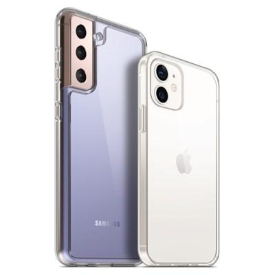 PLANA 슈퍼 클리어 갤럭시 S21 플러스 울트라 아이폰 12 미니 케이스