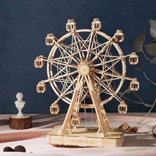 TGN01 Ferris wheel 움직이는 대관람차 D.I.Y 뮤직 박스 (오르골)