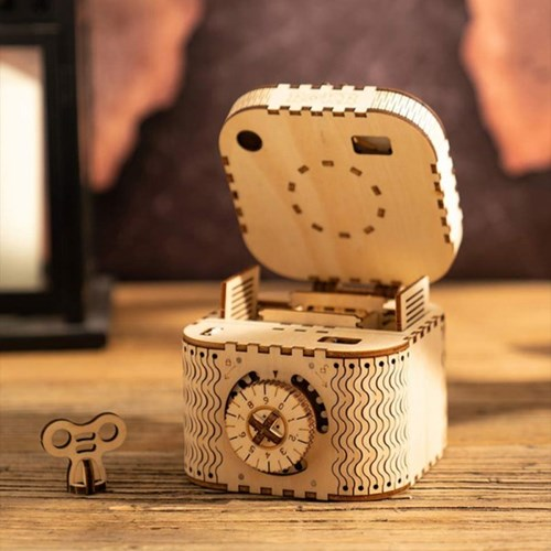 LK502 Treasure Box 보물 상자 D.I.Y MECHANICAL GEAR