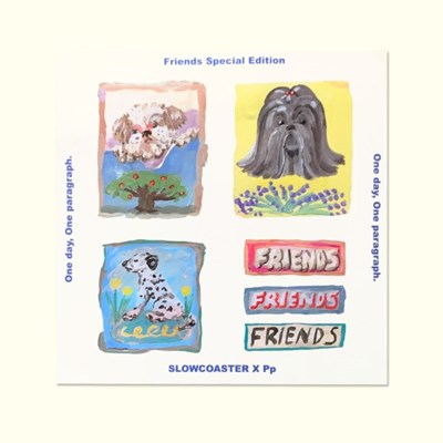 Friends Graphic Sticker