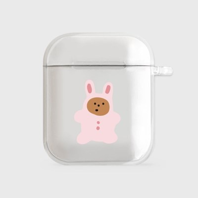 rabbit gummy [airpods clearcase]_(990101)