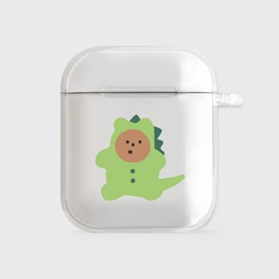dinosaur gummy [airpods clearcase]_(990099)