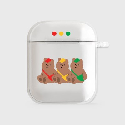 gummy traffic lights [airpods clearcase]_(990097)
