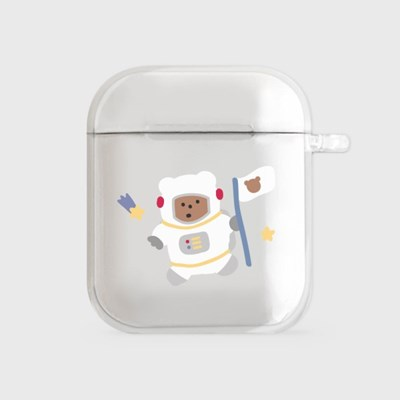astronaut gummy [airpods clearcase]_(990094)
