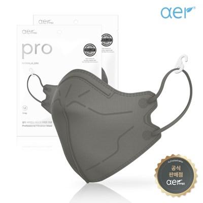 aer[공식판매원] 아에르 프로 컬러마스크 그레이 10매