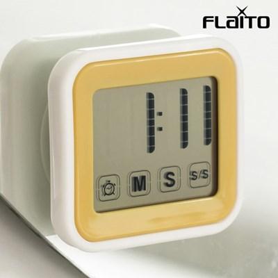 플라이토 디지털 욕실 타이머 알람 방수시계