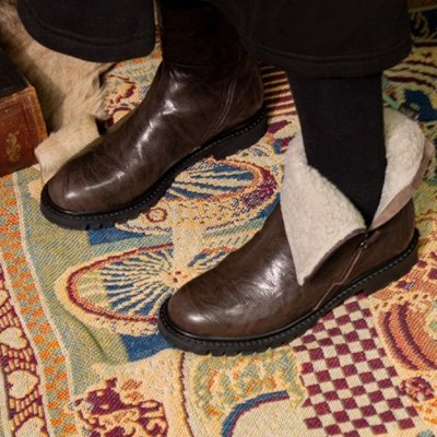 Wigmo boots (wrinkle D.brown)