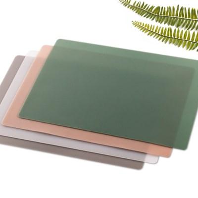 국산 플라이토 실리콘 무지 사각 식탁매트
