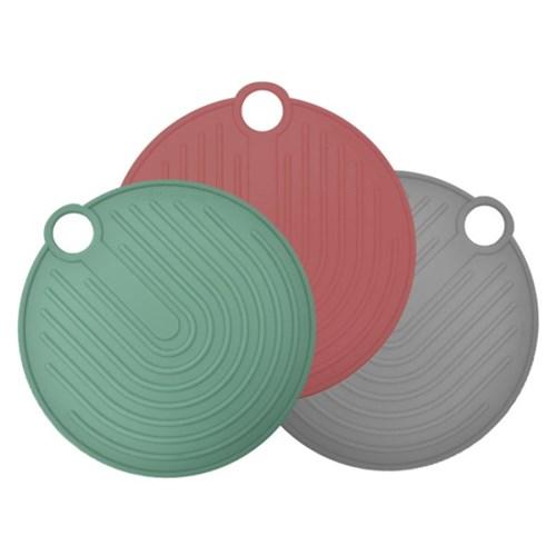 국산 플라이토 실리콘 원형 냄비받침