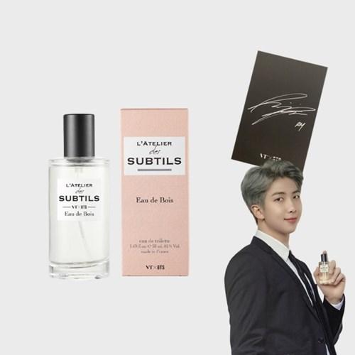 BTS향수 VT x BTS 라뜰리에 알엠 (방탄소년단 멤버전원 친필사인포토
