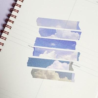 [본쥬흐네] 구름 마스킹테이프
