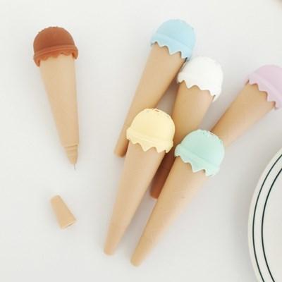 플리징 미니 아이스크림 볼펜