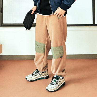 [프리키쉬빌딩] TODDLE FLEECE LONG PANTS ㅡ BEIGE