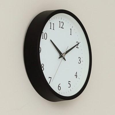 오리엔트 OTM897B 무소음 2 IN 1 벽탁상겸용 시계 블랙