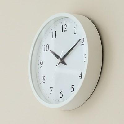 오리엔트 OTM897WH 무소음 2 IN 1 벽탁상겸용 시계 화이트