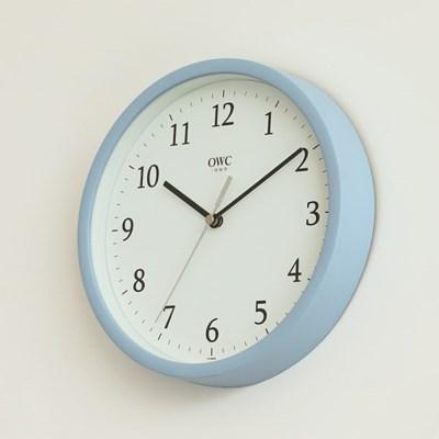 오리엔트 OTM899BL 무소음 베이직 모던 인테리어벽시계' 블루