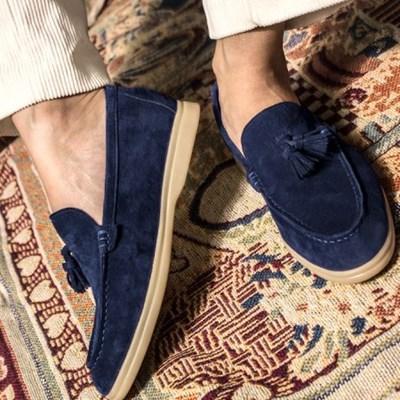 Pinecone loafer- denim
