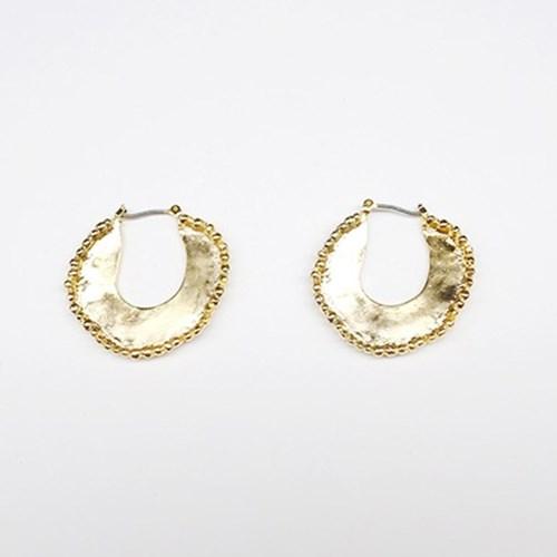 Golden Ball Earring