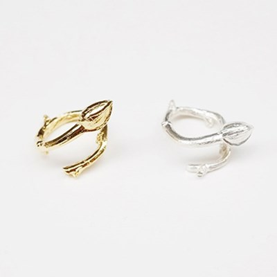 Stem Ring - Gold, Silver