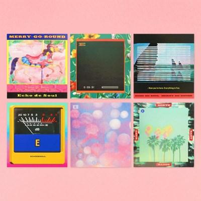 Merry Go Round - Retro Card Set (6ea)