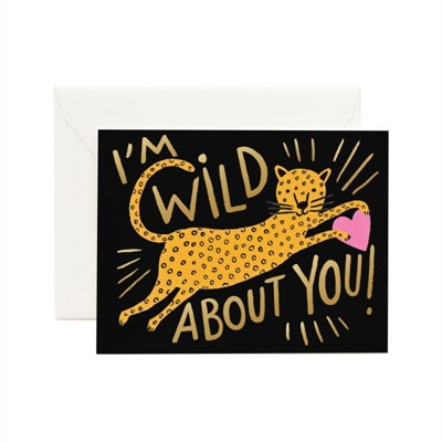 Wild About You Card 사랑 카드