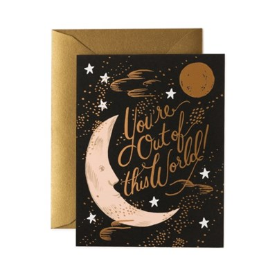 Out of This World Card 사랑 카드