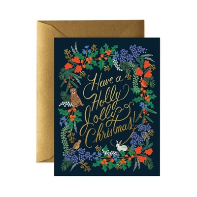 Holly Jolly Christmas Card 크리스마스 카드