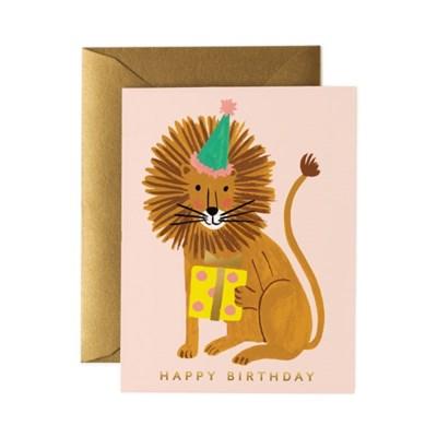 Lion Birthday Card 생일 카드