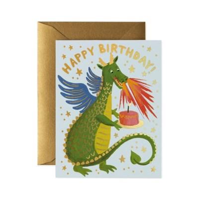 Birthday Dragon Card 생일 카드