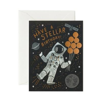 Stellar Birthday Card 생일 카드