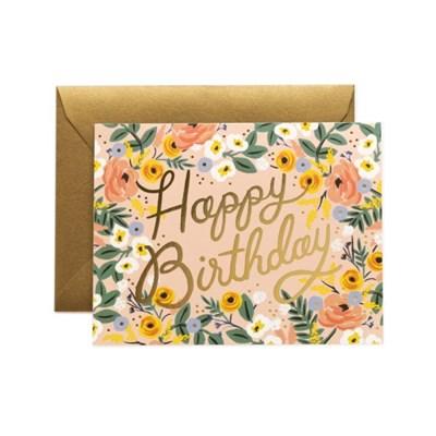 Rose Birthday Card 생일 카드