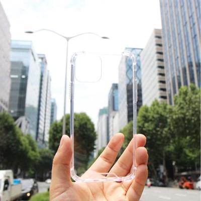 아이폰11 프로 맥스 투명 케이스 젤리 하드 범퍼