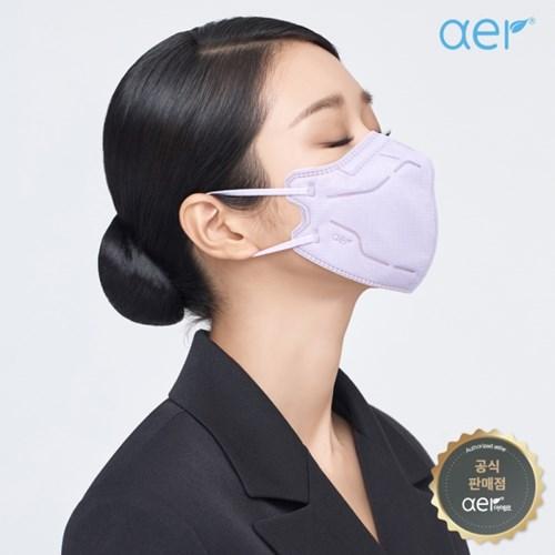 aer[공식판매원] 아에르 프로 컬러마스크 라일락퍼플 10매