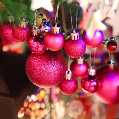 크리스마스 장식볼 오너먼트 3cm 20입 (푸치샤)_(301836157)