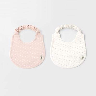 [메르베] 도로시 아기턱받이/침받이_사계절용(2Color)_(1570278)