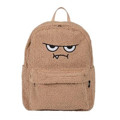 [몬스터 백팩_파마 브라운] Monster backpack
