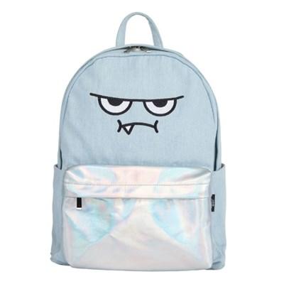 [몬스터 백팩_라이트 블루] Monster backpack