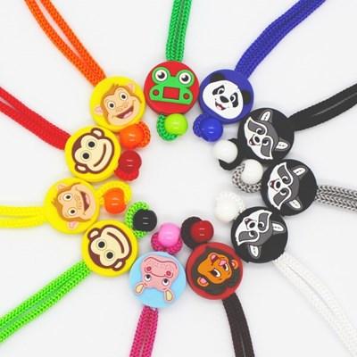 키즈 동물 캐릭터 마스크 스트랩 - 11 Color