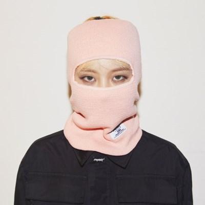 비에스래빗 오픈 페이스마스크 핑크