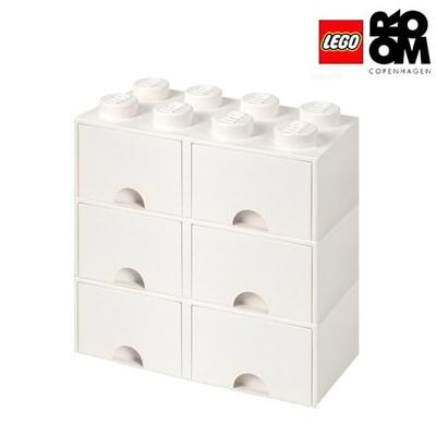[레고스토리지] 레고 8구3단서랍장세트-화이트